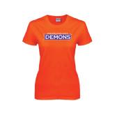 Ladies Orange T Shirt-Northwestern State Demons