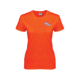 Ladies Orange T Shirt-NSU