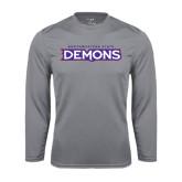 Performance Steel Longsleeve Shirt-Northwestern State Demons