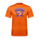 Performance Orange Tee-2015 Southland Conference Tennis Champions