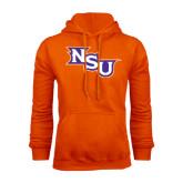 Orange Fleece Hoodie-NSU