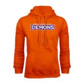 Orange Fleece Hoodie-Northwestern State Demons