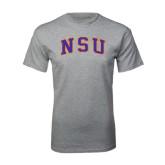 Grey T Shirt-Arched NSU
