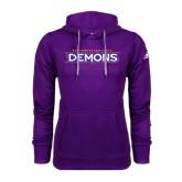 Adidas Climawarm Purple Team Issue Hoodie-Northwestern State Demons