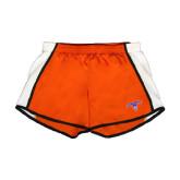 Ladies Orange/White Team Short-Arched Northwestern State w/Demon Head