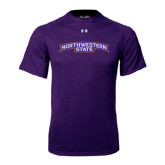 Under Armour Purple Tech Tee-Arched Northwestern State