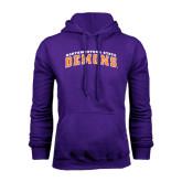 Purple Fleece Hoodie-Arched Northwestern State Demons