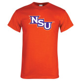 Orange T Shirt-NSU