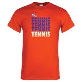 Orange T Shirt-Tennis Repeating
