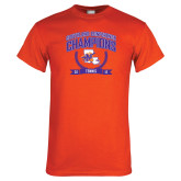 Orange T Shirt-2015 Southland Conference Tennis Champions