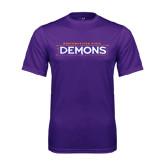 Performance Purple Tee-Northwestern State Demons