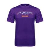 Performance Purple Tee-Soccer