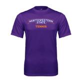 Performance Purple Tee-Tennis