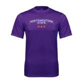 Performance Purple Tee-Dad