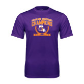 Performance Purple Tee-2015 Southland Conference Tennis Champions