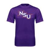 Performance Purple Tee-NSU