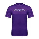 Performance Purple Tee-Arched Northwestern State