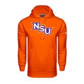 Under Armour Orange Performance Sweats Team Hoodie-NSU