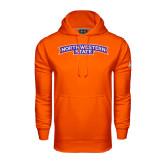 Under Armour Orange Performance Sweats Team Hoodie-Arched Northwestern State