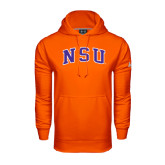 Under Armour Orange Performance Sweats Team Hoodie-Arched NSU