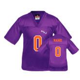 Youth Replica Purple Football Jersey-Personalized