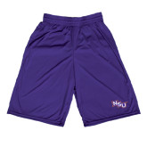 Performance Classic Purple 9 Inch Short-NSU