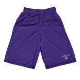 Performance Classic Purple 9 Inch Short-Arched Northwestern State w/Demon Head
