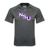 Under Armour Carbon Heather Tech Tee-NSU