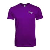 Next Level SoftStyle Purple T Shirt-NSU