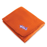Orange Arctic Fleece Blanket-NSU