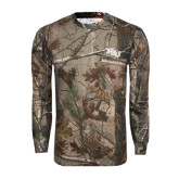 Realtree Camo Long Sleeve T Shirt w/Pocket-NSU