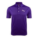 Purple Dry Mesh Polo-NSU