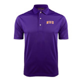 Purple Dry Mesh Polo-Arched NSU