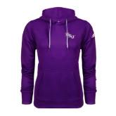 Adidas Climawarm Purple Team Issue Hoodie-NSU
