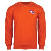 Orange Fleece Crew-NSU
