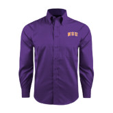 Red House Purple Long Sleeve Shirt-Arched NSU