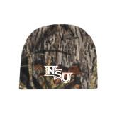 Mossy Oak Camo Fleece Beanie-NSU