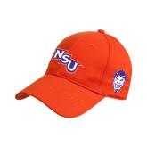 Orange Heavyweight Twill Pro Style Hat-NSU