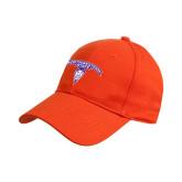 Orange Heavyweight Twill Pro Style Hat-Arched Northwestern State w/Demon Head