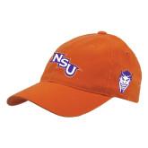 Orange Flexfit Mid Profile Hat-NSU