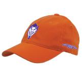 Orange Flexfit Mid Profile Hat-Demon Head