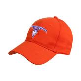 Adidas Orange Structured Adjustable Hat-Arched Northwestern State w/Demon Head
