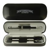 Black Roadster Gift Set-Arched Northwestern State Engraved