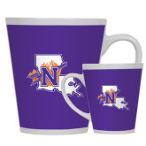Full Color Latte Mug 12oz-Louisiana w/ N