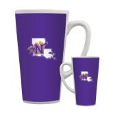 Full Color Latte Mug 17oz-Louisiana w/ N