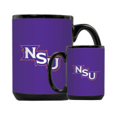 Full Color Black Mug 15oz-NSU