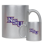 Full Color Silver Metallic Mug 11oz-NSU
