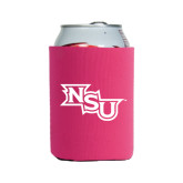 Neoprene Hot Pink Can Holder-NSU