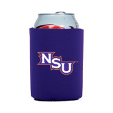 Collapsible Purple Can Holder-NSU