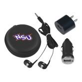 3 in 1 Black Audio Travel Kit-NSU